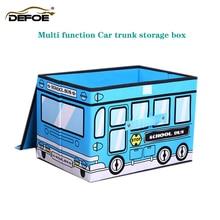Neue auto organizer Stamm lagerung box auto Sitz lagerung tasche box auto Lagerung box nicht woven lagerung box abdeckung film faltbare freeship