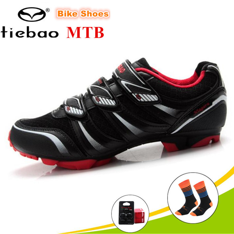 Tiebao Montagne Chaussures Chaussures de Course De Vélo En Fiber De Verre-Nylon semelle unique Vélo Chaussures VTT Professionnel Respirant sport chaussures de vélo
