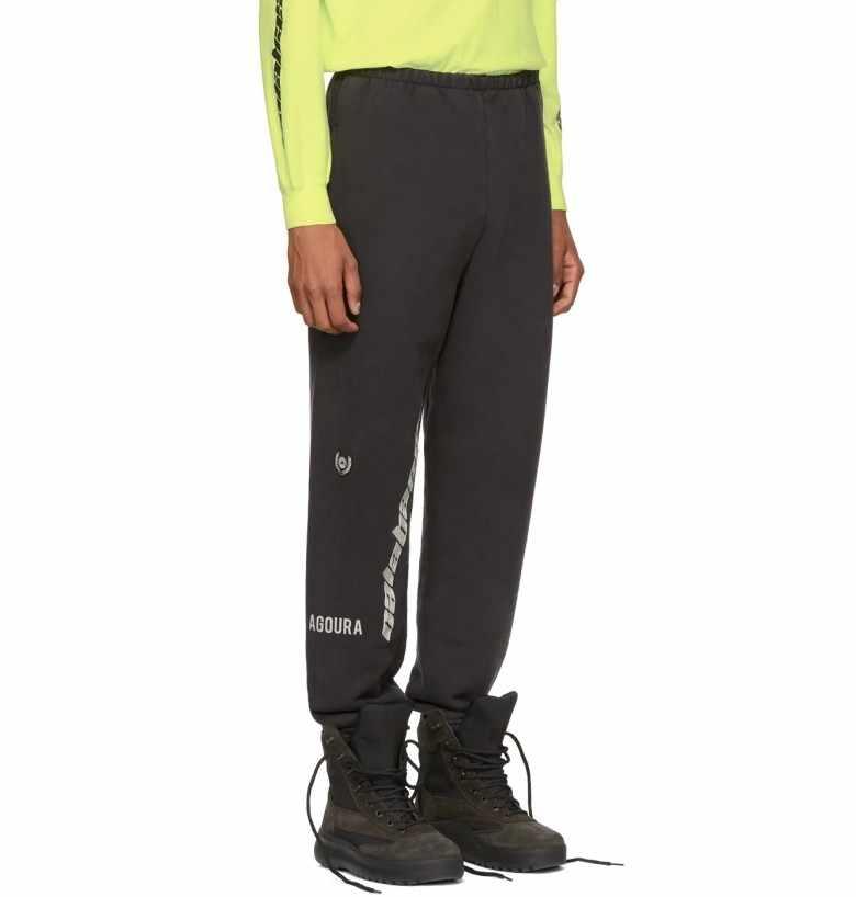 a6bc5f2bc6ff0 ... 2019SS new Hip Hop Kanye West Season 5 OVERSIZE Women Men Streetwear  Joggers Sweatpants Calabasas casual ...
