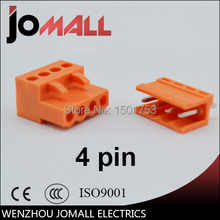 5.08mm Pitch 4 pin 4 way Terminal Block Plug Connector цены