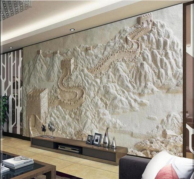 3d personalizzato wallpaper soggiorno carta da parati 3d Grande ...