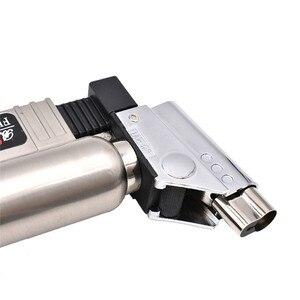 Image 3 - Gás butano dental micro tocha queimador de solda arma mais leve chama soldador à prova vento fonte fogo micro chama arma/isqueiro