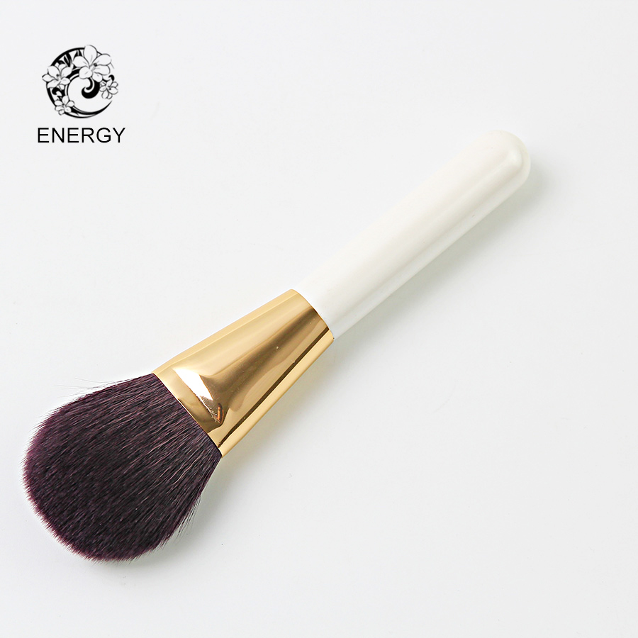 ENERGY Brand Goat Hair Large Powder Brush Makeup Brushes Make Up Brush Wood Handle Pincel Maquiagem Brochas Pinceaux S26GW