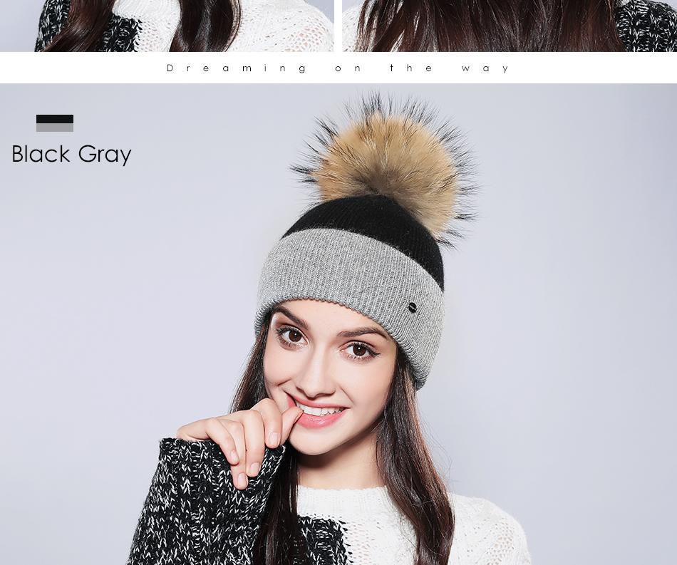 Winter Hat For Women MZ744 (12)