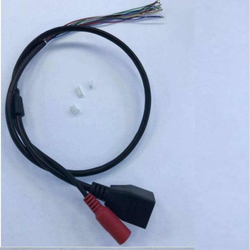 (2 PCS) IP POE LAN cáp cho CCTV IP board camera đặc biệt đối với POE Giữa Nhịp 4/5 (+) 7/8 (-) cung cấp điện Cho Miễn Phí Vận Chuyển