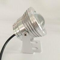 High Power Warm White Waterproof Flood LED Lamp Light 10W 12V Warm White Cold White Free
