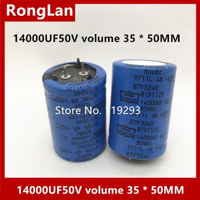 BELLA American Chemical fever electrolysis 14000UF50V 14000UF 50V volume 35 50MM 10pcs lot
