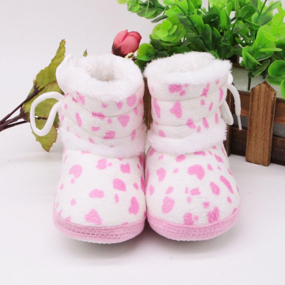Baby Shoes Crocheted Booties Newborn Babies Boys Cotton Lace-Up for Schoenen Meisje Roze