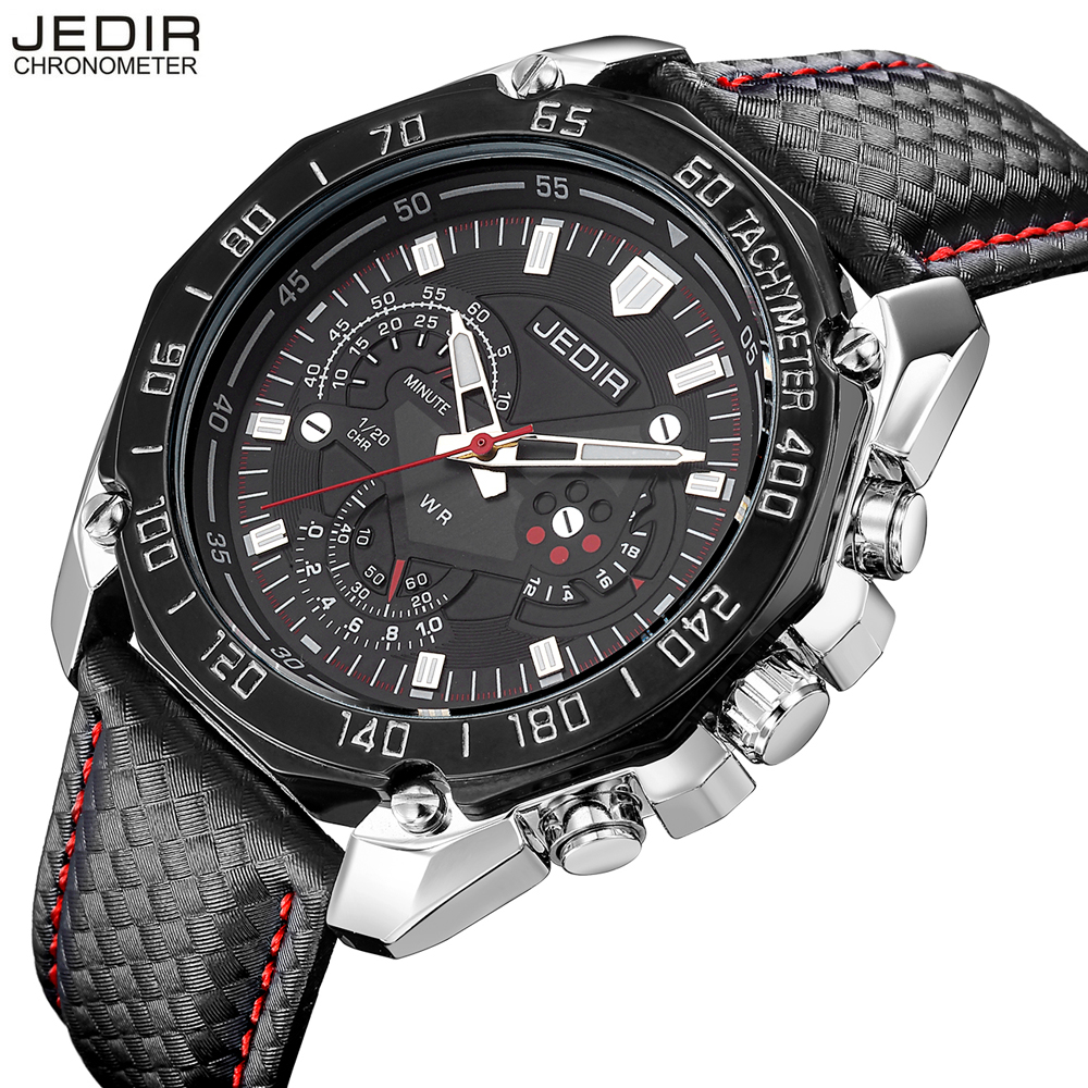 JEDIR Brand Watches Men Luxury Megir Quartz Watch High Quality Chronograph Men's Wristwatch Relogio Mascalino 2016 Super Deal
