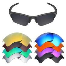 2ff6bb152 Mryok polarizado lentes de repuesto para Oakley Flak Jacket XLJ gafas de sol  lentes (lente única)-opciones múltiples