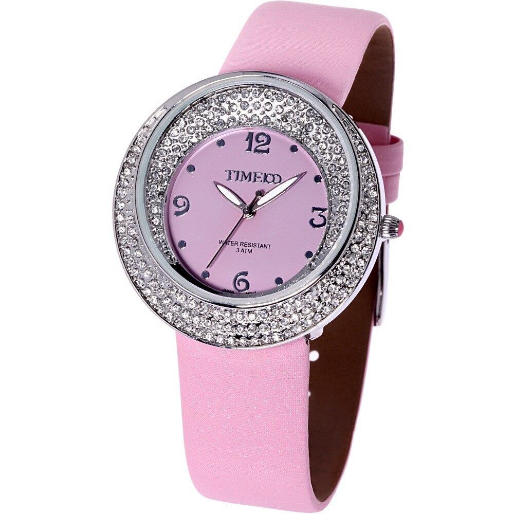 Time100 Luxury Women's Quartz Watch Analog Jewelry Big Face Dial relojes Diamond Ladies Watches Gift Relogio Masculino Reloj  pure white dial face ziz time watches navy