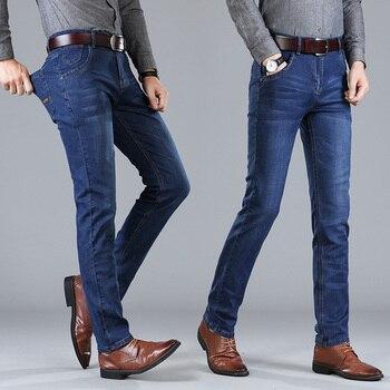 5bae398994 NIBESSER Skinny Jeans azul hombres otoño Denim Vintage lápiz Pantalones  Casual pantalones 2018 Sexy agujero RIP hombre cremallera pantalones  vaqueros
