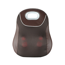 2018 new style 3D Hot Sell Wireless Home and Car Full Body Shiatsu rechargeable Kneading Massage Cushion back massager