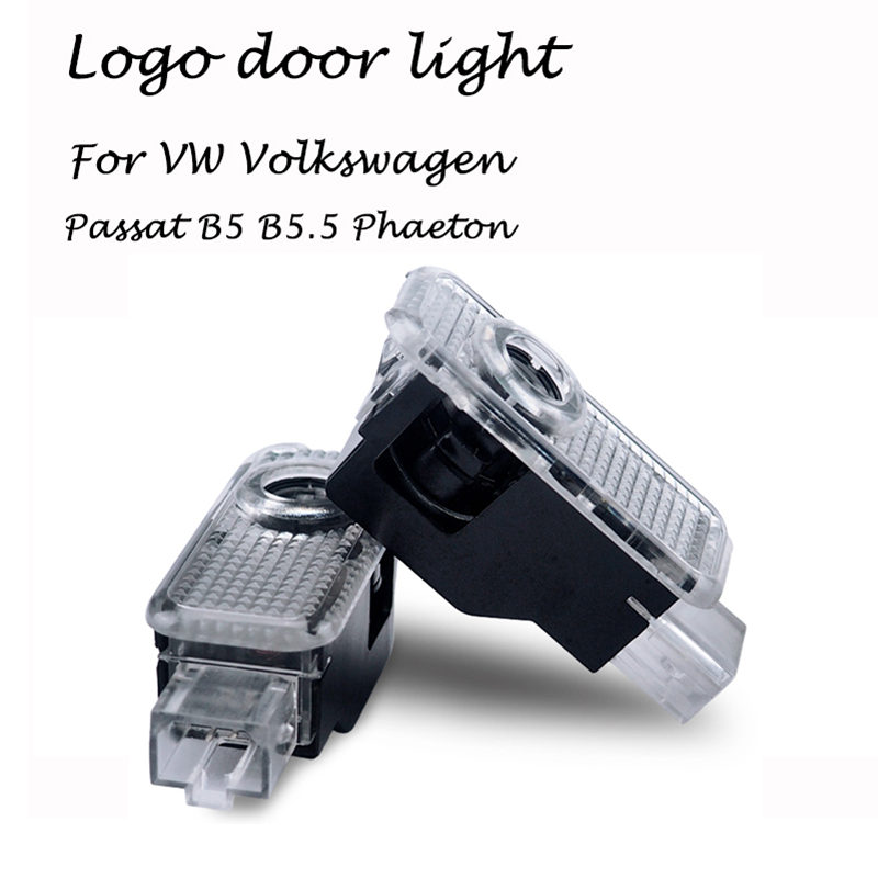 2pcs Car Door LED Logo Light for VW Volkswagen Passat b5 b5 5 Phaeton 2005 2012 Laser Projector Ghost Shadow Welcome Lamp in Decorative Lamp from Automobiles Motorcycles