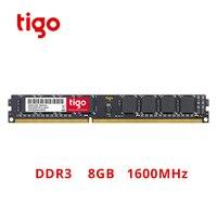 Tigo DDR3 8GB 1600MHz RAM High Quality Brand New Memoria DDR 3 DIMM 240PIN Memory For Desktop