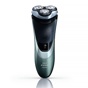 Philips Norelco Wet and Dry Rechargeable Electric Razor AT880/44 with DualPrecision Heads Support LED indication 100-240V