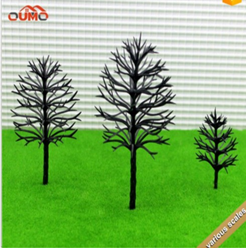 FREE SHIPPING 4-12CM ARCHITECTURAL MODEL MAKING Train Layout Model Trees