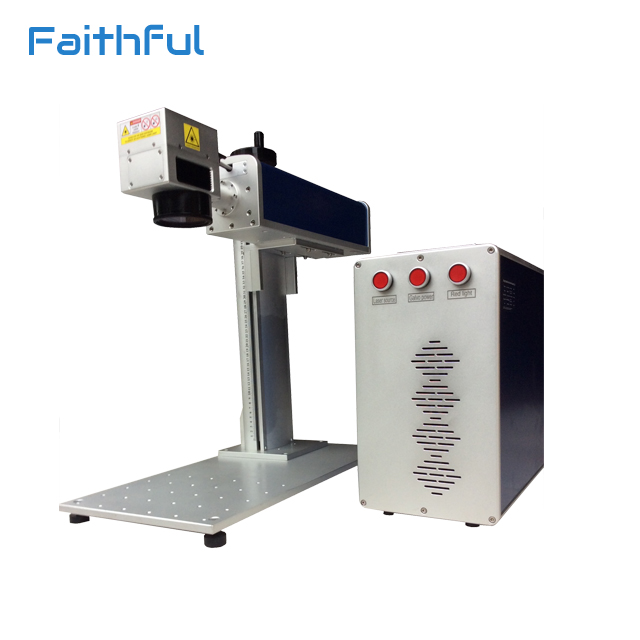 30W Portable Fiber Laser Plastic Printing Machine for Electronics Cover