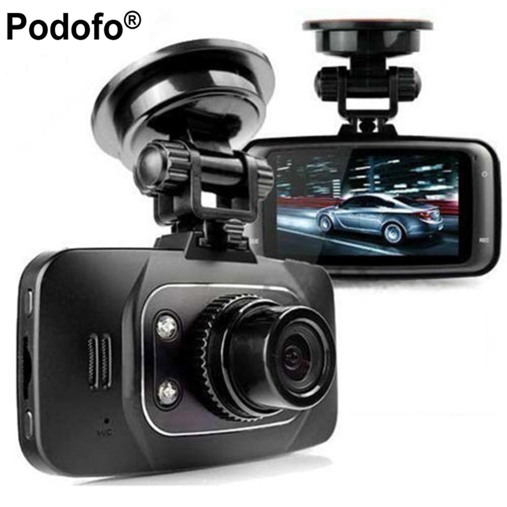 Podofo Новатэк GS8000L Full HD 1080 P 2.7 Видеорегистраторы для автомобилей Авто-камеры видео Регистраторы регистраторы g-сенсор HDMI Ночное видение черны...