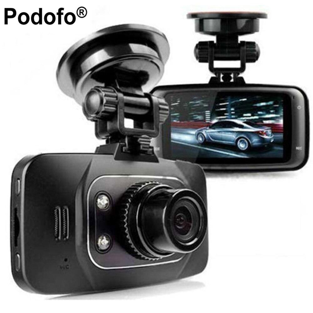 Podofo Новатэк GS8000L Full HD 1080p 2,7 Видеорегистраторы для автомобилей автомобиля Камера видео Регистраторы регистраторы g-сенсор HDMI Ночное видение ...