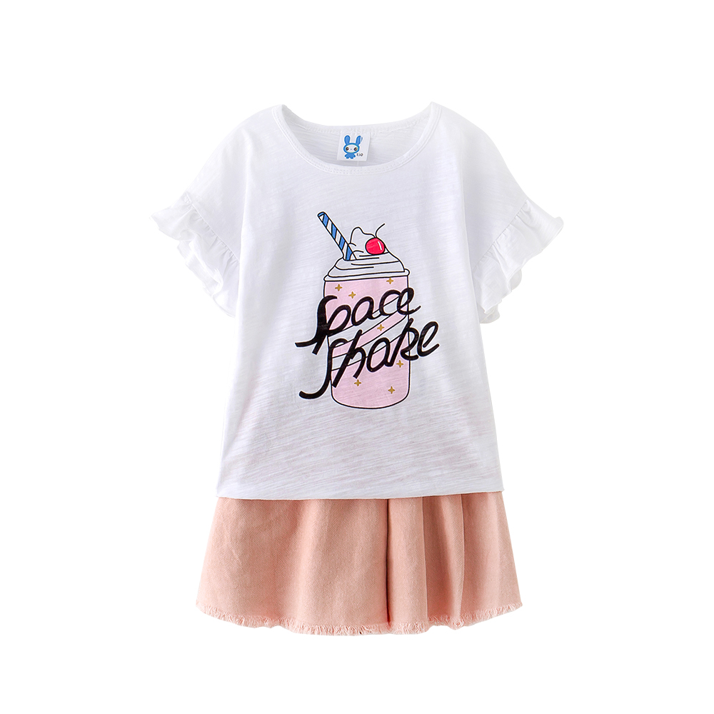 B-S173 New Fashion Summer Girls Casual Set 5-13T Teenager Solid Color Set Kids short sleeve T-shirt+pants 2pcs Girls Outfit Suit запонки arcadio rossi 2 b 1022 13 s