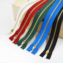 Close-End 13/15/18cm 3# mix brand Metal Zipper for Sewing zip Garment Accessories Jeans Zippers Cremalleras DIY tools zipper(China)