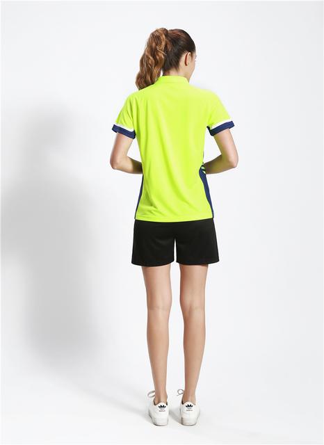 Badminton męskie damskie ubrania sportowe tenis stołowy 1 zestaw sport damska odzież sportowa gra kobieta tenis stołowy Badminton zestawy koszula tanie i dobre opinie BHWYFC Pasuje prawda na wymiar weź swój normalny rozmiar men women Student teen unisex girls boy Breathable Quick Dry Anti-Pilling Anti-Shrink Anti-Wrinkle