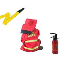 1Set Fireman Toy Children Kids Pretend Play Toys Engineer Policemen Cosplay Games Educational Toy Girl For Boys Gift(China)