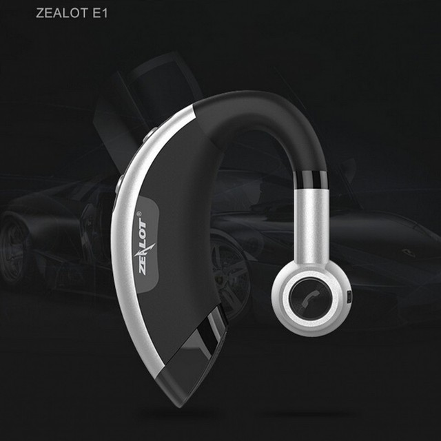 Zealot E1 Wireless bluetooth headset music headphones car driver handsfree earphones fone de ouvido auriculares with microphone