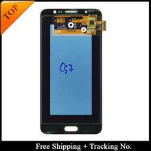 Digitizer-Assembly AMOLED Display Touch-Screen J710 Lcd Adjustable Samsung J7 for Bright