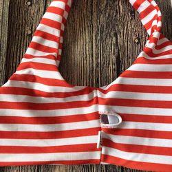 Średniej zwężone Bikini Push Up Bikini zestaw z paskiem stroje kąpielowe kobiety Sexy strój kąpielowy kobiet druku Buquini Plus rozmiar SwimmingSuit AA328 5