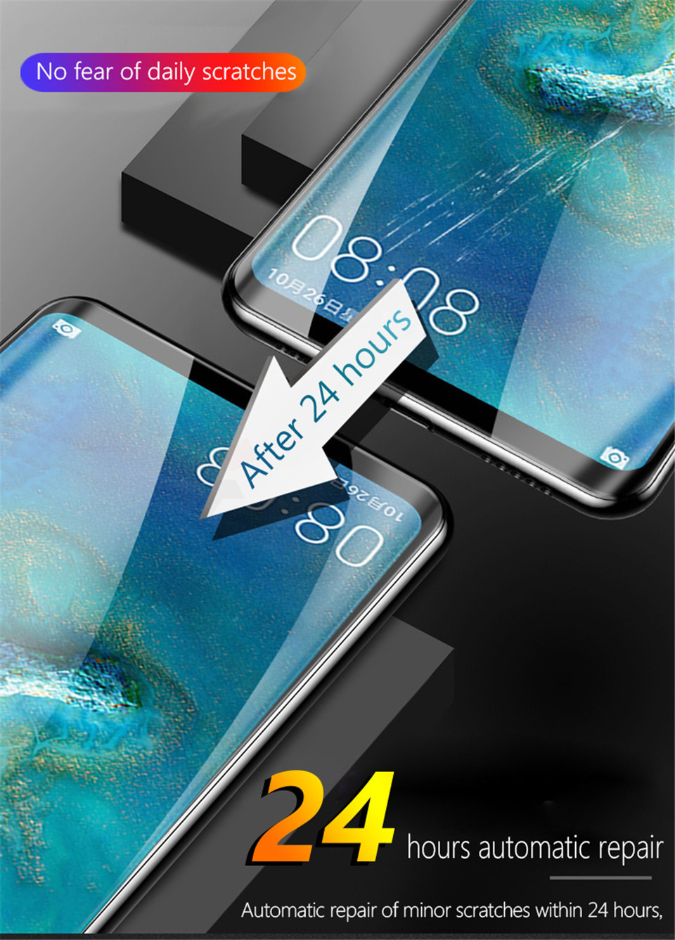 20D Screen Protector Hydrogel Film For Huawei P40 P20 P30 Lite Protective Film For Huawei Mate 20 Pro 10 Lite Film Not Glass HTB1ksl3V4TpK1RjSZR0q6zEwXXaN