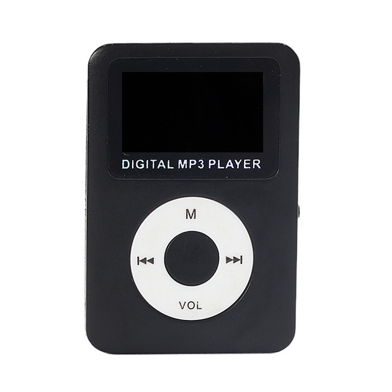 Running USB Digital MP3 Player LCD Screen Support Micro SD Card With Free Shipping H3T9