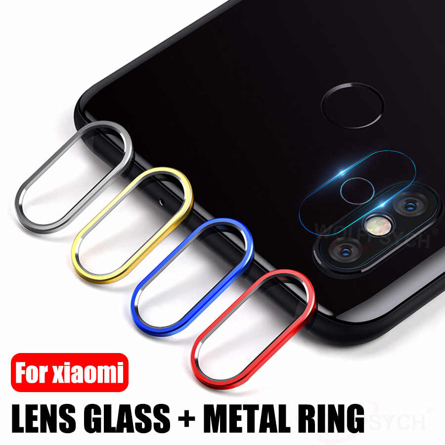 Camera Lens Tempered Glass+Metal Rear Lens Ring For Xiaomi Mi 9T Redmi K20 Note 7 Pro Glass+Ring Case For Mi 8 9 SE A2 CC9 CC9e