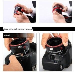 Image 4 - מתכת הר עדשת מתאם פוקוס אוטומטי AF מאקרו Tube הארכת טבעת עבור Canon EOS EF S עדשת 750D 80D 7D T6s 60D 7D 550D 5D סימן IV