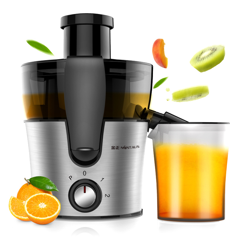 JINZHENG JZM-2503 Large diameter Juicer Household Mini electric Fried machine Fully automatic stainless steel juicer cukyi household electric multi function cooker 220v stainless steel colorful stew cook steam machine 5 in 1