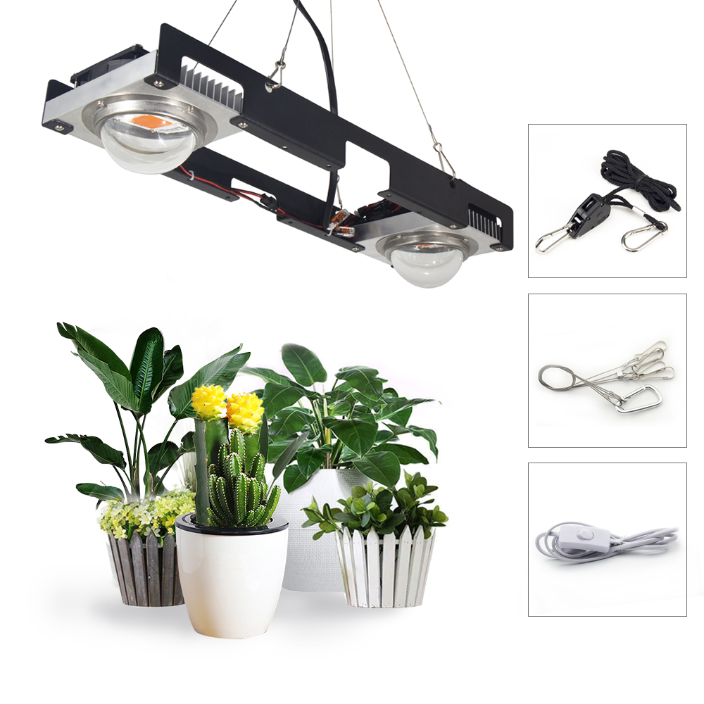 LED Grow Light Full Spectrum 100W 200W 300W COB LED Plant Grow Lamp For Indoor Plants