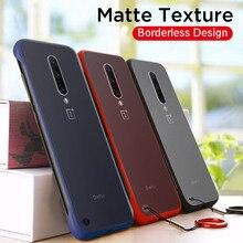 Matter Phone Case For OnePlus 7 Pro Ultra-thin Silicone Back Cover Case For OnePlus 7Pro OnePlus7 Pro Frameless Boderless Case