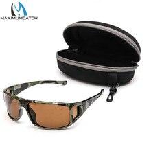 Maximumcatch Camouflage Frame Fly Fishing Polarized Sunglasses Lens Frame Fishing UV400 Sunglasses Multi-Color Eyewear.