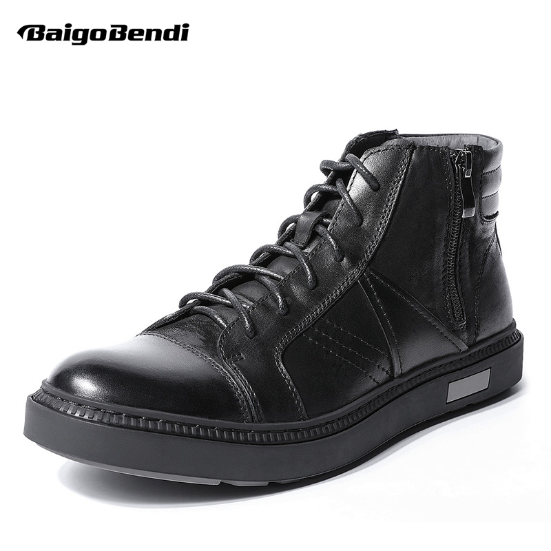 New Arrival Men Boots Retro Full Grain Leather Lace Up Martin Boots Trendy Men Shoes Winter Autumn Boots 2017 new england martin boots leather men boots 2017 new arrival autumn ankle boots winter men s casual lace up boots shoes