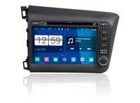 S160 Quad Core Android 4 4 4 Car Audio FOR NEW HONDA CIVIC 2012 Car Dvd