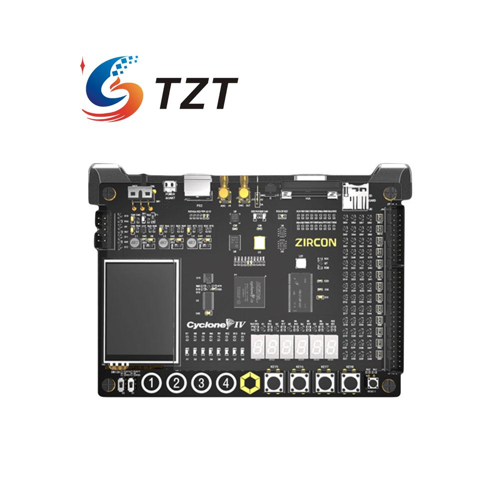 ZIRCON Altera FPGA A4 Development Board Cyclone EP4CE10 254Mbit SDRAM 128bit Flash for DIY e10 free shipping altera fpga board altera board fpga development board ep4ce10e22c8n