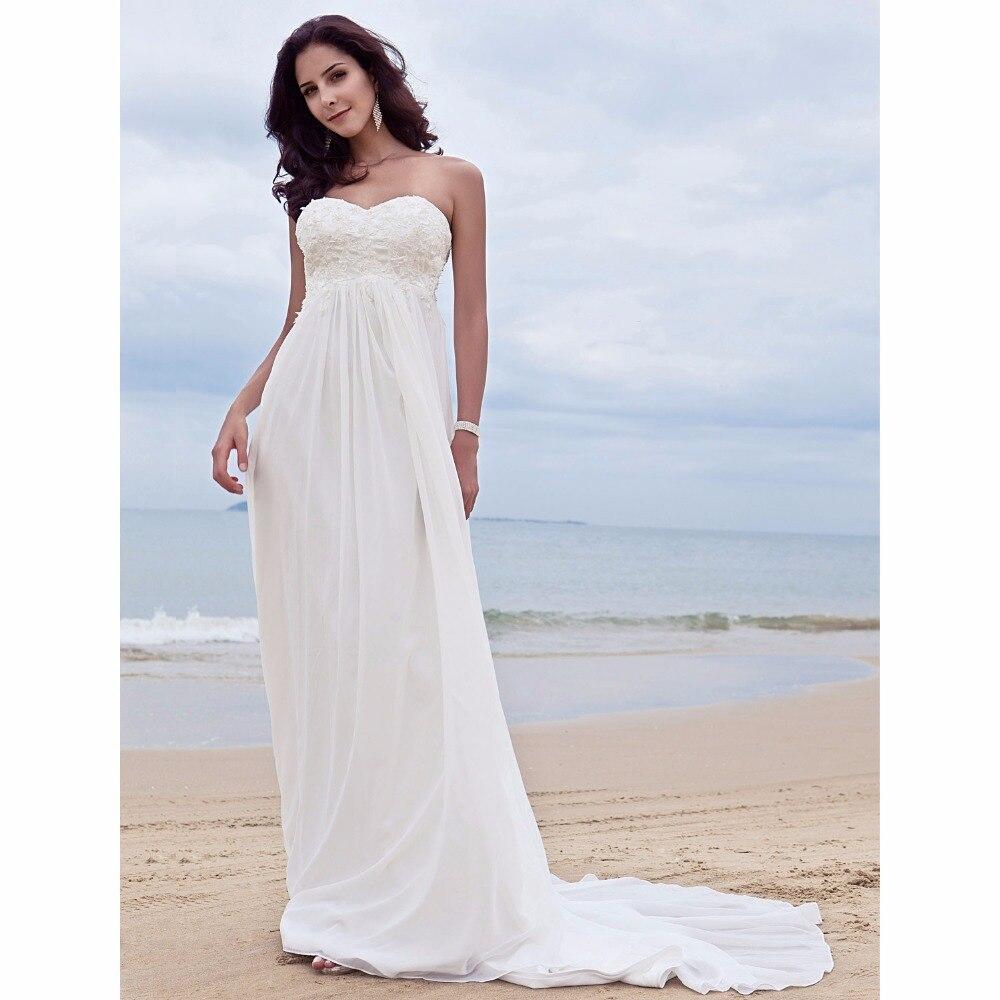 LAN TING BRIDE Sweetheart A Line Wedding Dress Backless