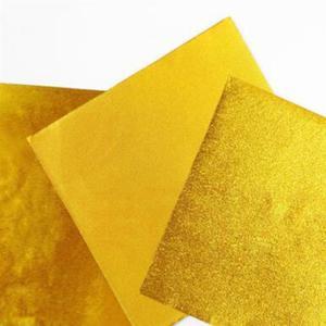 Image 3 - 200 шт. 8*8 см золотая алюминиевая фольга Конфета шоколадное печенье оберточная Оловянная бумага вечерние DIY Металлические тиснения подарочная упаковка крафт бумага