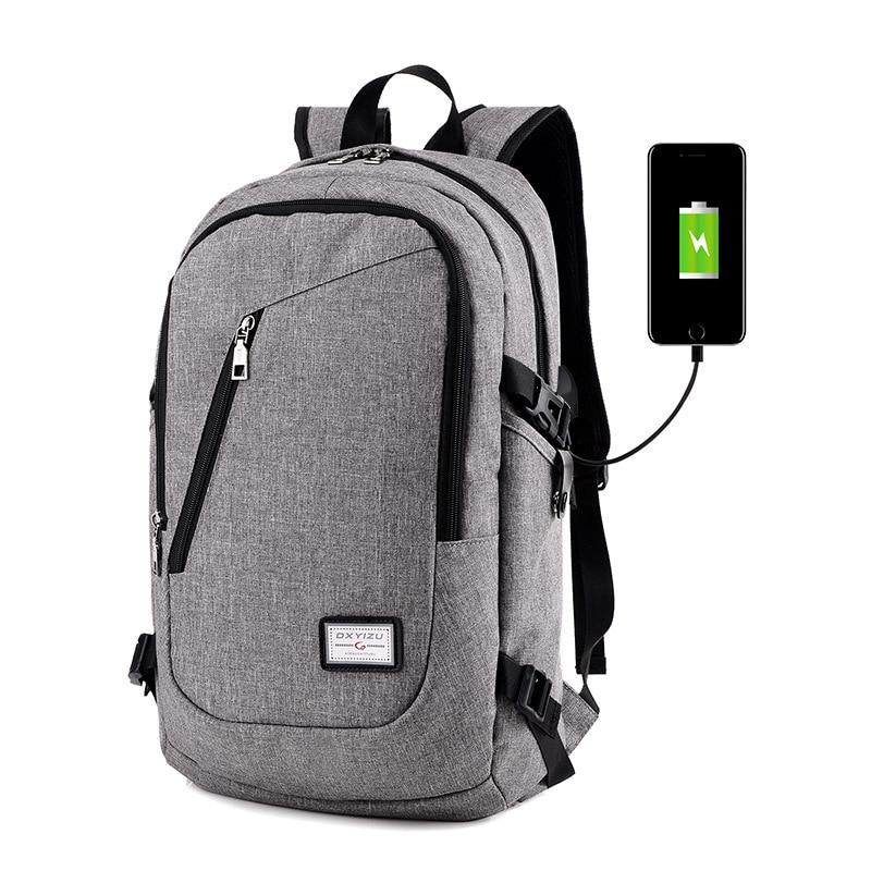 ce400a74f3847 BERAGHINI الرجال على ظهره مكافحة سرقة للماء Daypacks مع USB شحن تصميم  المدرسة Bagpack عارضة الظهر