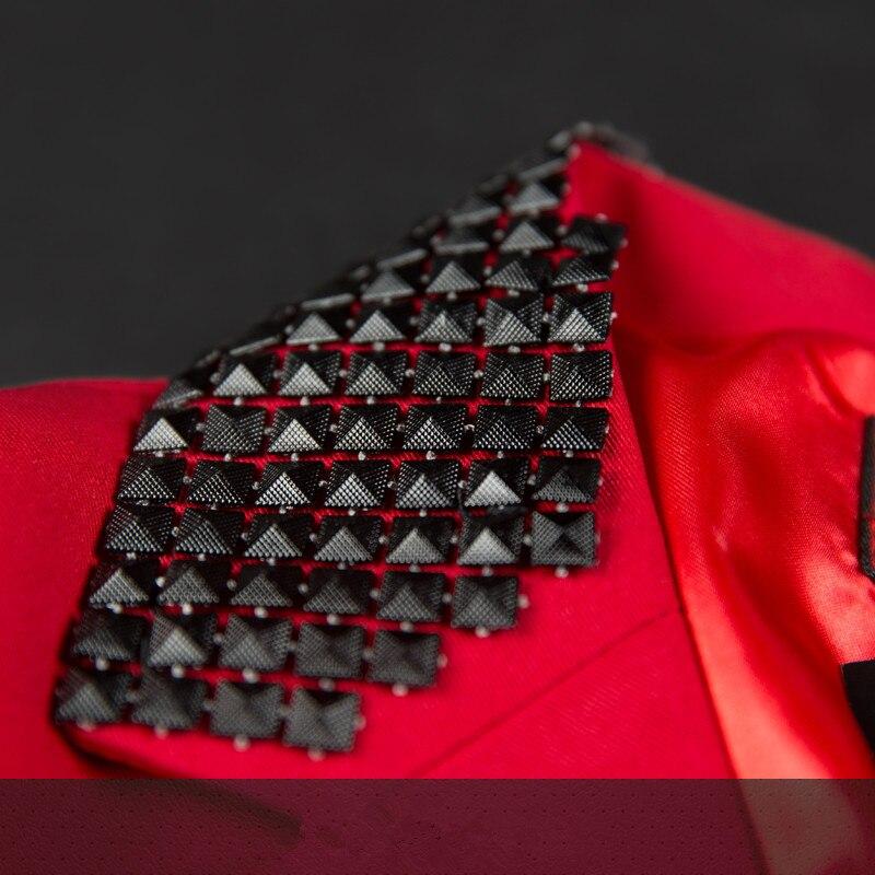 Performance Danseur Show Qualité Dj Mâle Ds Bonne Costume Hôte Discothèque Mode Robe Étoile Red Vêtements Bar Rouge Chanteur Mince Scène De AATEwUvq