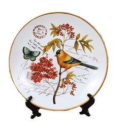 Naczynia ceramiczne szafka do wina bar restauracja salon talerze dekoracyjne płyta wisząca Home Decor prezent ślubny