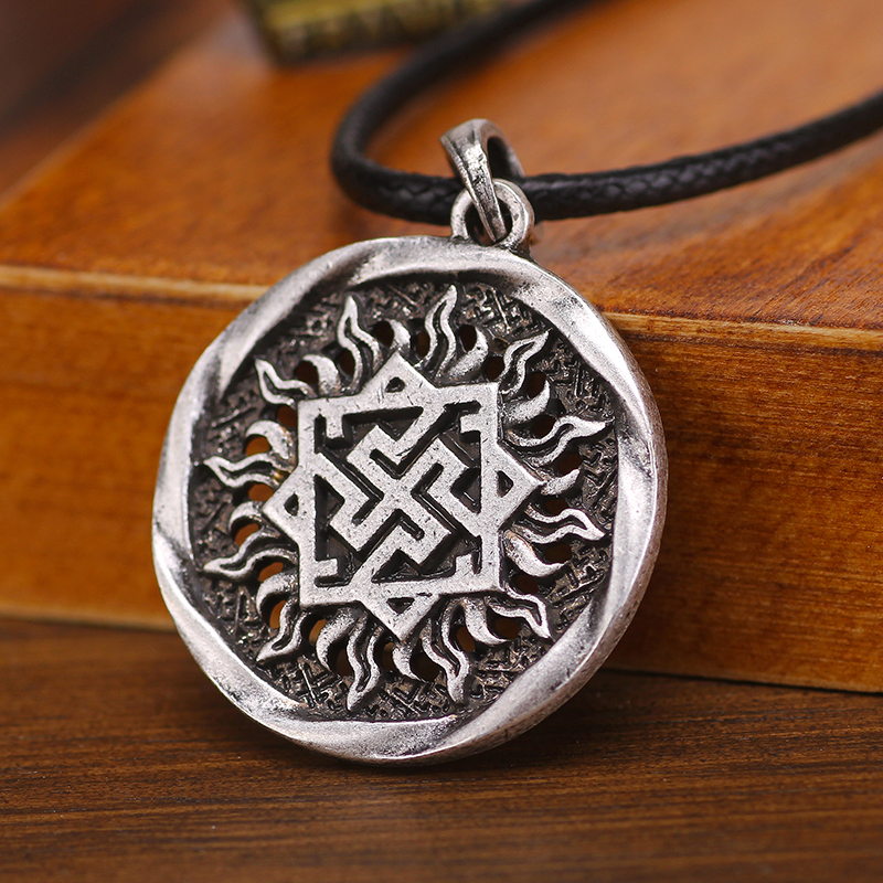 Aliexpress Com Buy 2 In 1 Constellations Pendant Amulet: Aliexpress.com : Buy Slavic Charm Valkyrie In Sun Symbol