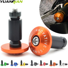 7 8 22 motorcycle handlebar cap motocross handle bar grips ends for For KTM 125 200