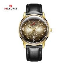 Designer Men Watch Vogue Black Leather Quartz Mens Wrist Watches Man Fashion Clock Date Waterproof Gold Male Business Wristwatch
